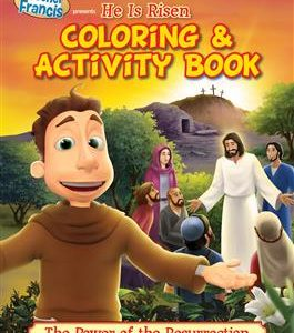 brother francis he is risen - activity and coloring book