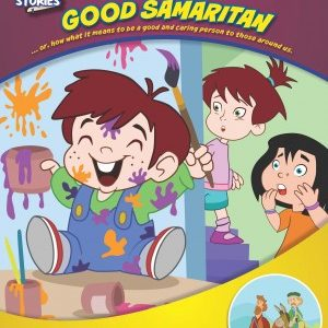 Color & Activty Book Parable of the Good Samaritan